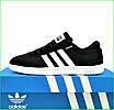 Кросівки Чоловічі в стилі Adidas Neo Чорні Адідас (розміри: 41,42,43,44,45,46), фото 2