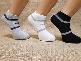 Мужские носки короткие с хлопка Paul Mark ф17 40-45 ассорти NASA
