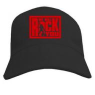 Рок бейсболка молодёжная кепка летняя с печатью  We will rock you