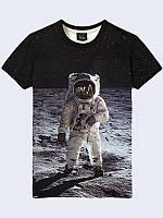 Футболка 3D Космонавт в Космосі, фото 1