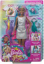 Уценка! Кукла Барби Фантазийные образы Фантазия волос Русалка Единорог Barbie Fantasy Hair Doll Brunette