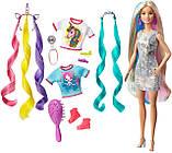 Кукла Барби Фантазийные образы Фантазия волос Русалка и Единорог Barbie Fantasy Hair Dol Blonde GHN04, фото 2