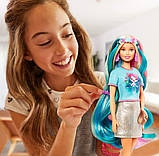 Кукла Барби Фантазийные образы Фантазия волос Русалка и Единорог Barbie Fantasy Hair Dol Blonde GHN04, фото 6
