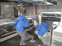 выполнение работ по монтажу системы вентиляции на производстве