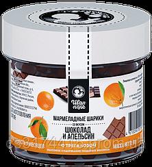 Мармеладные шарики «Иван Поле» вкус Шоколад-Апельсин (80 грамм)