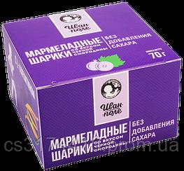 Мармеладные шарики «Иван-Поле»  вкус Чёрная Смородина  (70 грамм)