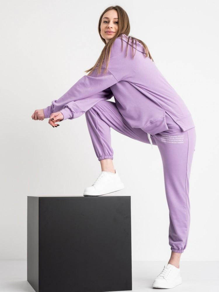 Спортивний костюм жіночий бузковий
