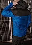 Куртка TNF електрик - чорна, фото 7
