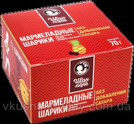 Мармеладные шарики «Иван Поле»  вкус Вишня-Ананас  (70 грамм)
