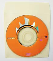Mini DVD-R Videx*4, 1,4Gb, бум.конверт