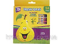 Мел маслянный Fresh Ideas, 24 цвета