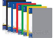 Папка пластиковая 10 файловая А4, ассорти