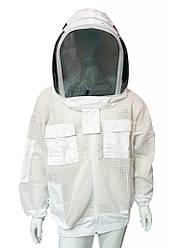 Куртка пчеловода, трехшаровая сетка, евромаска, Пакистан размер