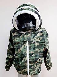 Куртка пчеловода, евромаска, 100% хлопок, камуфляжная Пакистан размер