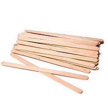 Шпателі дерев'яна яна яні одноразові Doily (100 шт/пач.)