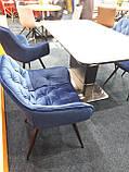 Стілець CHERRY Velvet синій Signal (безкоштовна доставка), фото 6