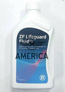 Масло АКПП 9 ступеней ZF Lifeguard Fluid 9 ATF 9 ZF 68218925AB