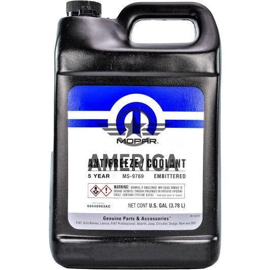 Mopar Antifreeze Coolant Orange MS-9769 1galon (3,785 Л) CHRYSLER 68048953AC