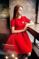 Расклешенное платье Шанель