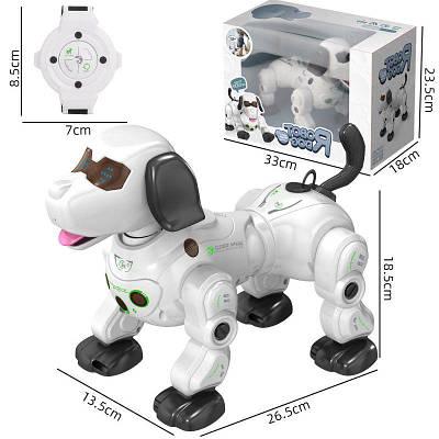 Робот собака игрушка для детей на радиоуправлении HappyCow Robot Dog 777-602