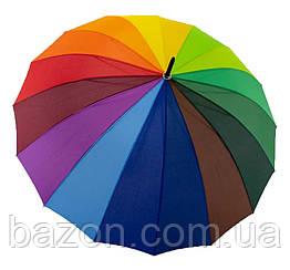 """Зонт-трость веселка від """"Feeling Rain"""", унісекс, 5501-1"""
