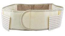 Турмалиновый пояс (белый)  1 шт Обхват талии для пояса - 65-119 см
