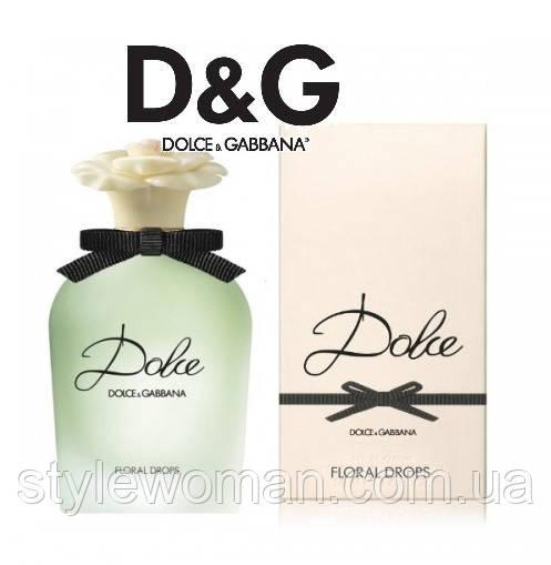 Dolce&Gabbana Dolce Floral Drops 100мл Дольче Габбана Флорал дропс тестер