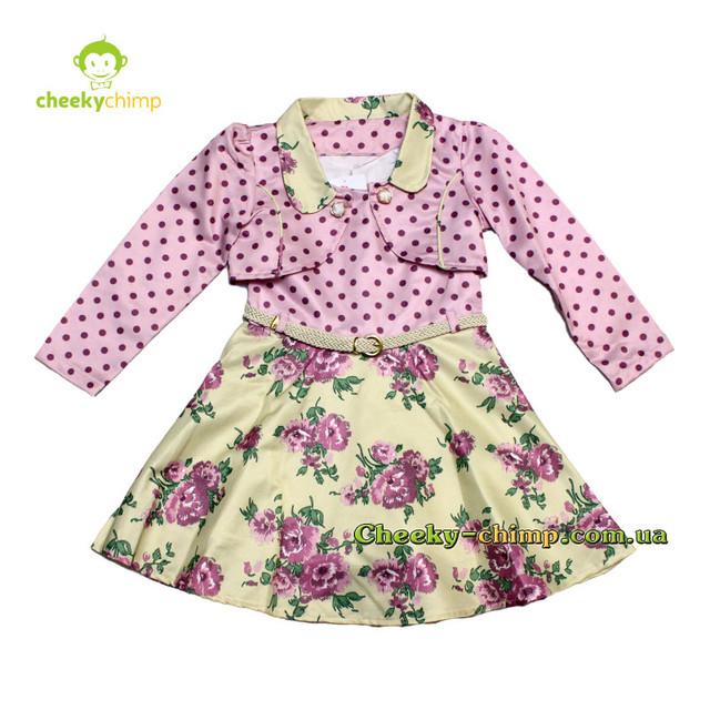 Платье праздничное на девочку Сиренивое 2,3,4 года