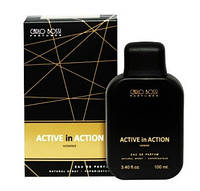 Парфюмерная вода для мужчин Active In Action Gold (Carlo Bossi), 100 мл