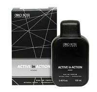 Парфюмерная вода для мужчин Active In Action Silver (Carlo Bossi), 100 мл