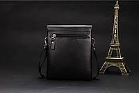 Мужская кожаная сумка-барсетка Polo. Модель 0441, фото 3