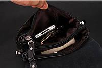 Мужская кожаная сумка-барсетка Polo. Модель 0441, фото 5