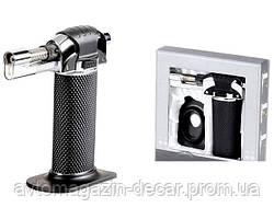 Горелка для пайки Турбо каучук+подставка 8х4.2см TX-0595
