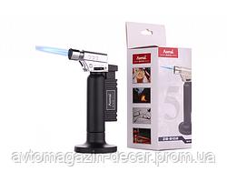 Горелка для пайки Турбо с блоком+подставка 8х4.2см TX-3842