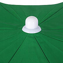 Пляжный (садовый) зонт усиленный с регулируемой высотой Springos 240 см BU0004, фото 2
