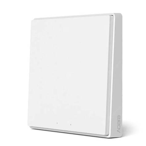 Выключатель Aqara Light Switch D1 ZigBee 3.0 (1 кнопка) white QBKG21LM, фото 2