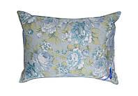 Подушка 50% пуха Карина Billerbeck голубые цветы 50х70 см вес 800 г