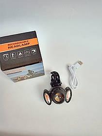 Мощный аккумуляторный велосипедный фонарь BG-658