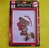 Набор для творчества Danko toys Вышивка крестиком Мишка с сердцем, фото 4