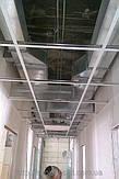 прокладка воздуховодов из оцинкованной стали за потолком