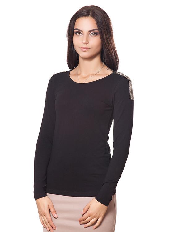 Модный пуловер с погонами (S-XL в расцветках)