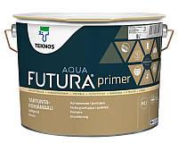 Грунт алкидный TEKNOS FUTURA AQUA PRIMER водоразбавляемый транспарентный (база 3) 9л