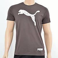 Чоловіча футболка Puma(репліка) Коричневий, фото 1
