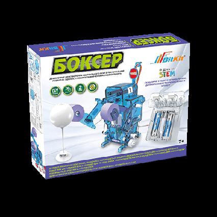 Робот Боксер. Электрический конструктор для детей BitKit, детский развивающий робототехника.