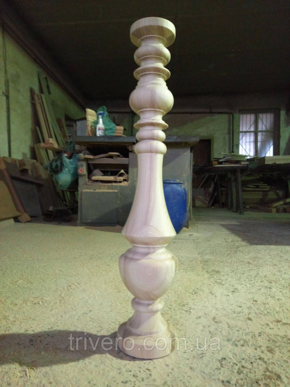 Мебельная опора для стола большого диаметра H.830 D.160 /  КОД: Високі - 10