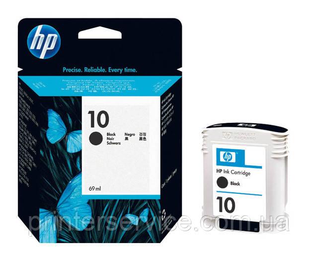 Картридж HP 10 black для принтеров HP 2000/2200/2500 (C4844A)