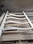 Меблеві ніжки і опори з дерева кабріоль  H. 580 D. 80, фото 2