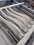 Меблеві ніжки і опори з дерева кабріоль  H. 580 D. 80, фото 4