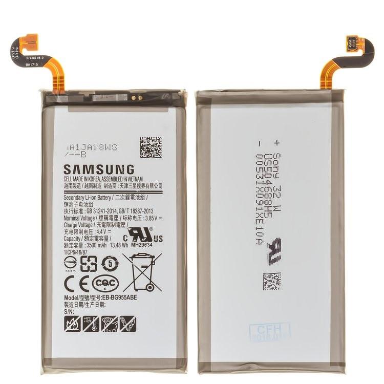 Акумулятор (Батарея) для Samsung G955H Galaxy S8 Plus EB-BG955ABA (3500 mAh)