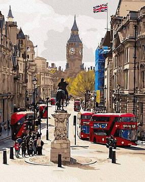 Картины по номерам 40х50 см Brushme Бурный Лондон (GX 30082)